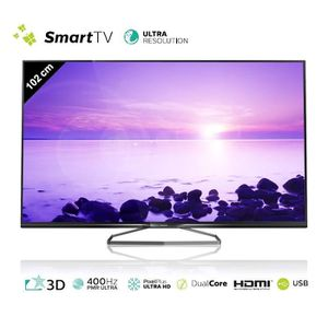 PHILIPS 40PUK6809 Smart TV 3D 4K Ultra HD 102 cm