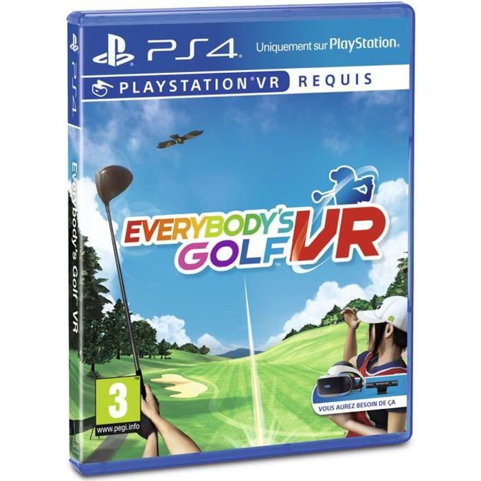 Everybody's Golf PS VR Jeu VR