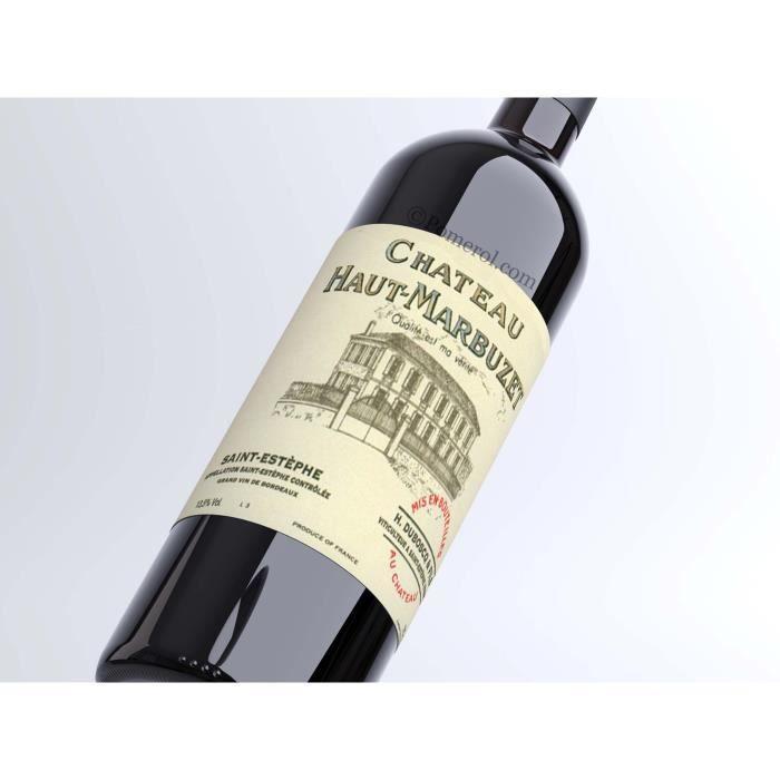X3 Château Haut-Marbuzet 2017 - AOC Saint-Estephe - vin rouge - Bouteille (0,75cl)