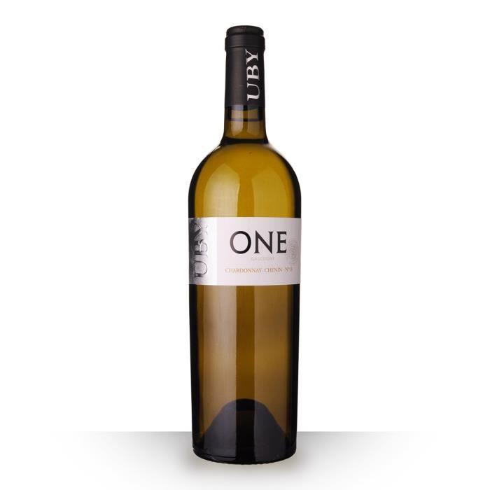 Uby One N°13 Chardonnay AOC Côtes de Gascogne - 75cl - Vin Blanc
