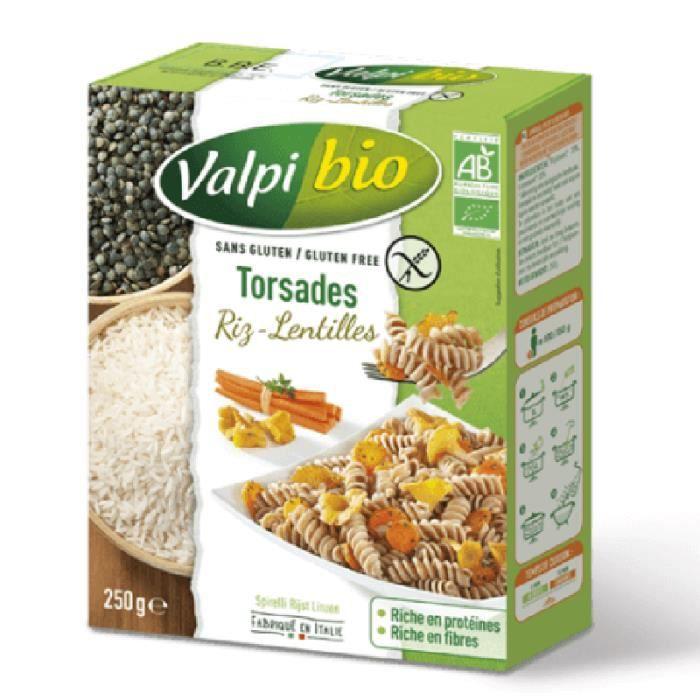 Torsades farine de riz et de lentilles (Bio) LPPR - 250g