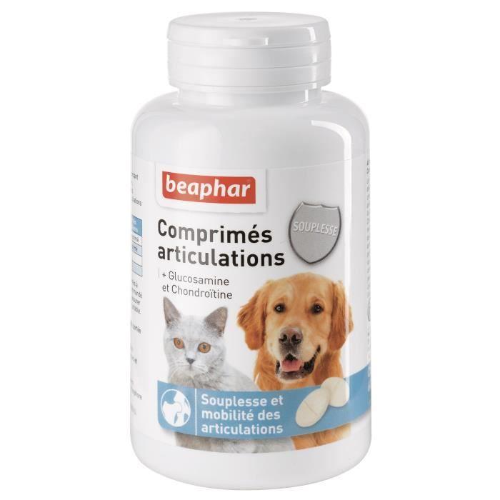 BEAPHAR Comprimés articulations - Pour chien et chat
