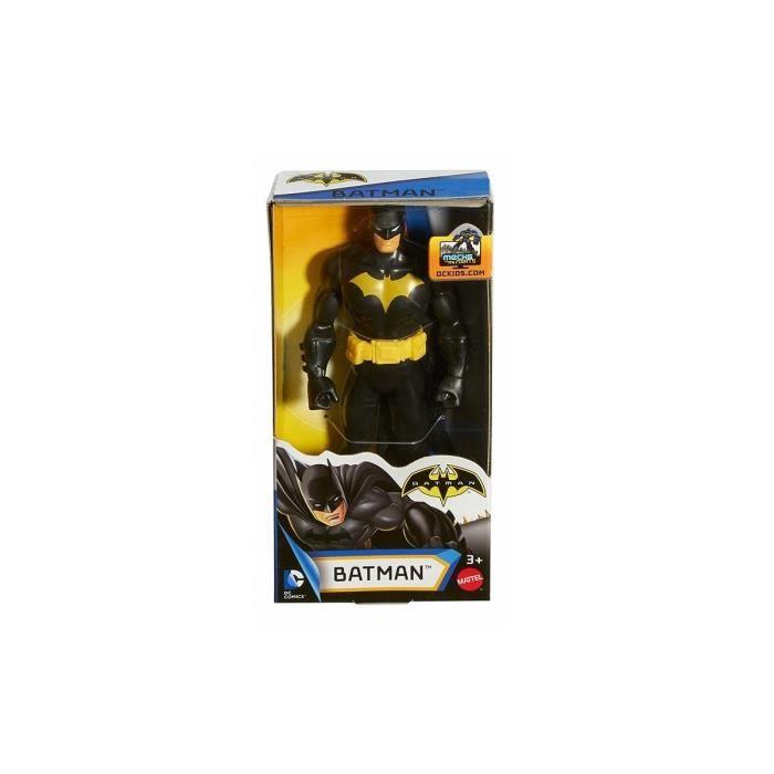 Figurine DC : Batman Noir 13 cm - Justice League - Super Heros - Personnage - Jouet Garcon