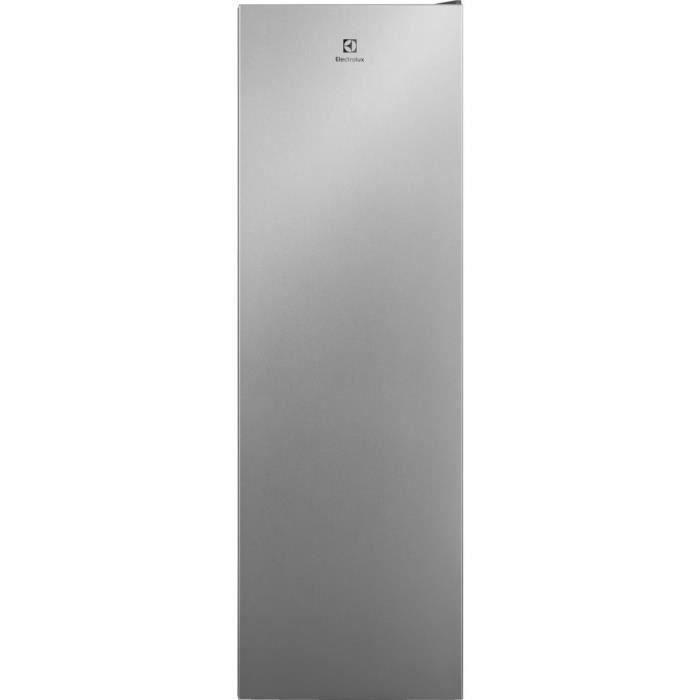 ELECTROLUX LRT5MF38U0 - Réfrigérateur 1 porte - 380L - Froid brassé - L 60cm x H 186cm - Inox