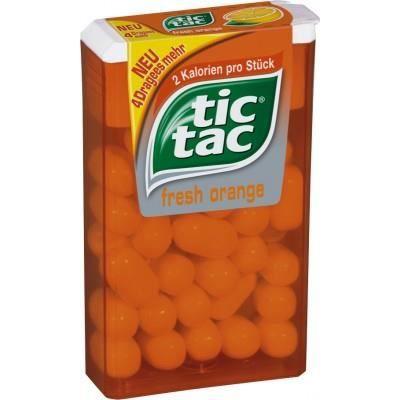 Ferrero Tic Tac dragée d'orange 36 paquets