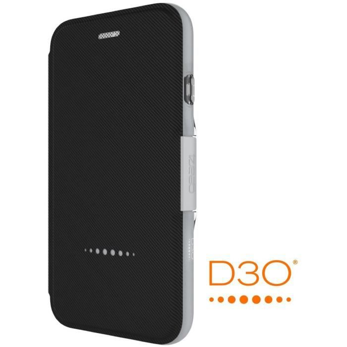 GEAR4 D3O Oxford Coque - iPhone 7 - Argent