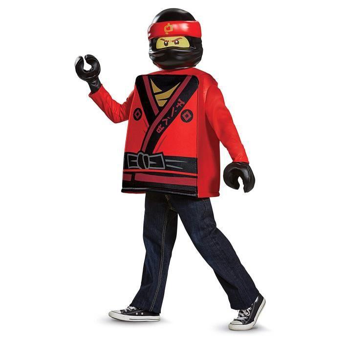 LEGO Ninjago Film Costume Classique Kai Moyenne 7-8