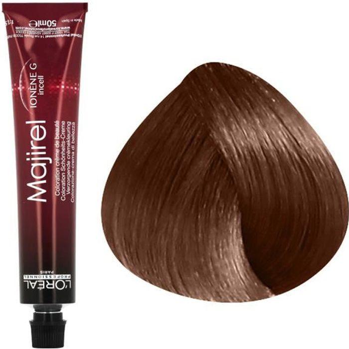 L'Oréal Professionnel Coloration permanente 6.8 : Blond Foncé Mocca , Crème 50ml