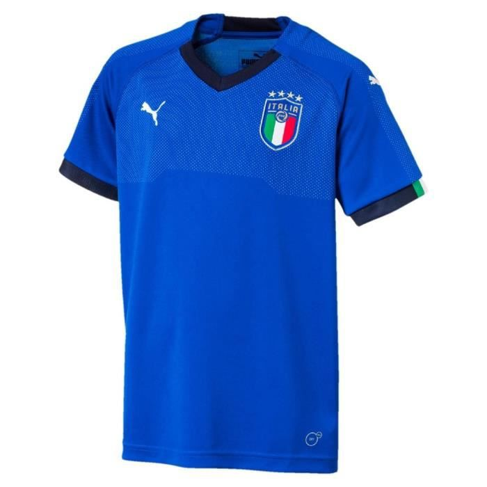 Maillot de football Figc italia home blue jr - Puma