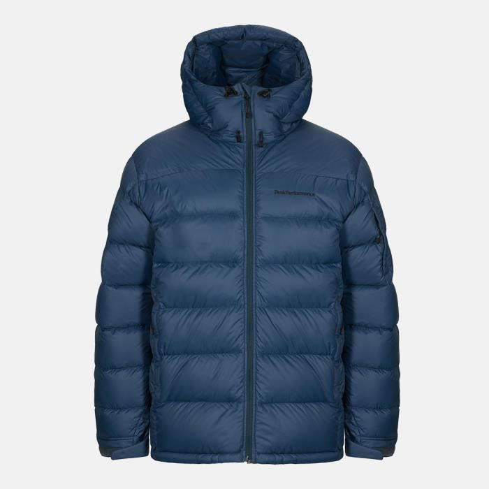 Doudoune Peak Performance Frost Down Jacket Blue Steel Homme
