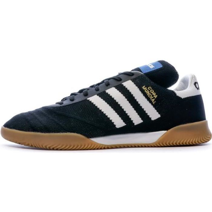 Chaussures de football noires homme Adidas Copa Mundial 70YR