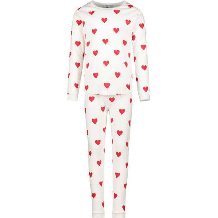 Petit Bateau pyjamas-lingerie de nuit Fille en couleur Blanc - Taille 140