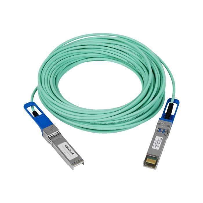 NETGEAR Câble réseau AXC7610 - 10 m Twinaxial - Pour Périphérique réseau, Commutateur, Serveur, Transceiver, Appareil de Stockage