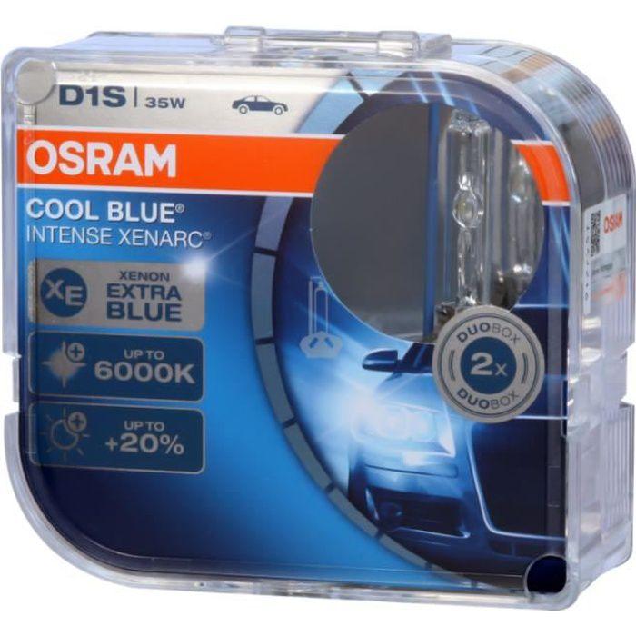 2 AMPOULE XENON OSRAM D1S XENARC 35W 66140CBI COOL BLUE INTENSE XENARC 6000K