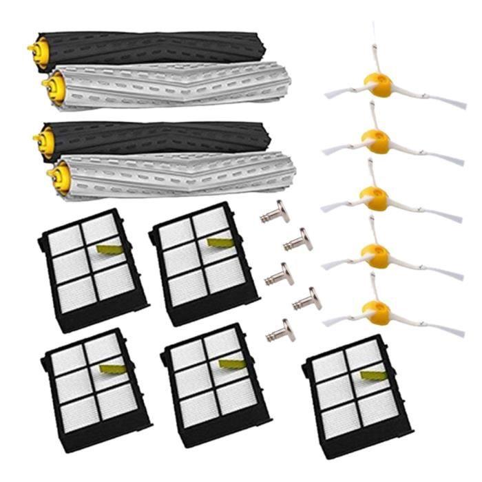 Brosses Et Filtres Kit De Remplacement Pour Irobot Roomba 800/900 Series 800 860 870 880 900 980 Pieces De Rechange Accessoires Pour