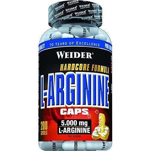 WEIDER Sachet de L-Arginine 200 Gélules