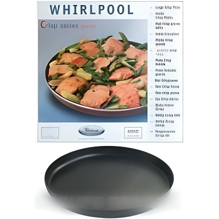 Plat crisp ø 32cm pour m.o whirlpool jet pour micro ondes WHIRLPOOL 480131000085 - - MT66 - 853806 - BVMPièces