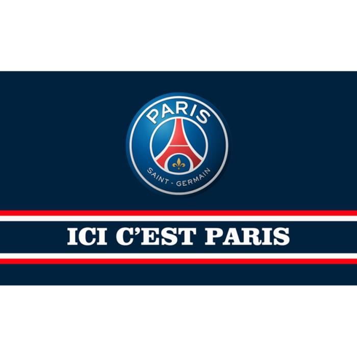 Exceptionnel Drapeau de l'équipe Paris Saint-Germain Football Club 150*90  OD73