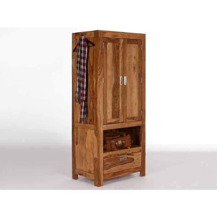 armoire pour vestibule torino en palissandre massif massivum achat vente meuble d 39 entr e. Black Bedroom Furniture Sets. Home Design Ideas