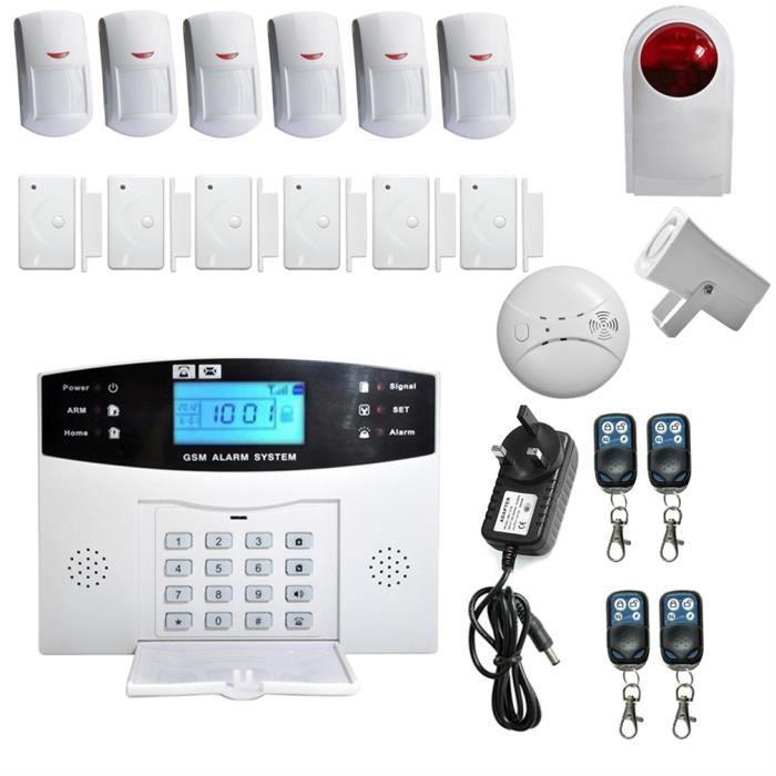 YA-8-GSM-8 alarme GSM anti-vol Maison sécurité