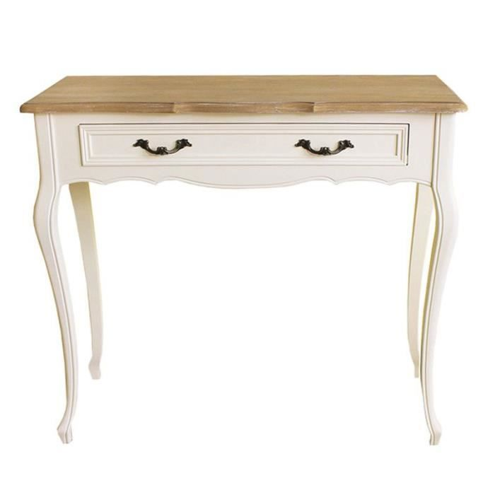 console blanche avec tiroir achat vente console. Black Bedroom Furniture Sets. Home Design Ideas