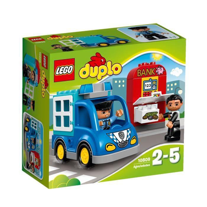 ASSEMBLAGE CONSTRUCTION LEGO® DUPLO® Ville 10809 La Patrouille de Police