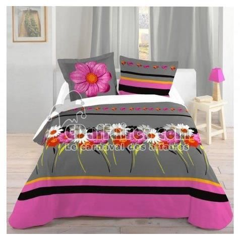 lovely casa hp36757001 reine housse de couette coton multicolore 240 x 220 cm achat vente. Black Bedroom Furniture Sets. Home Design Ideas