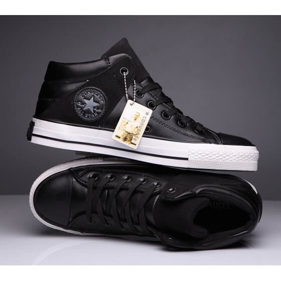 Converse ALL Star Homme Chuck Taylor Mid lace up Basket ...