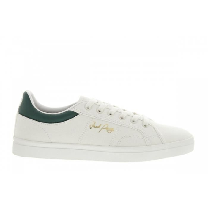 1f021551a9a9 Baskets mode - Fred Perry B8244 Sidespin Canvas... Beige - Achat ...