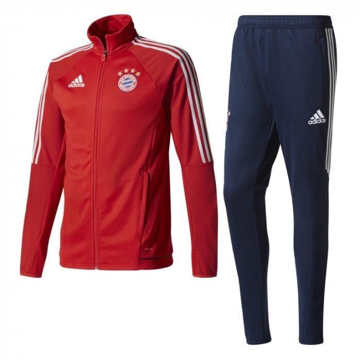Survêtement FC Bayern Munich 20172018 rouge Prix pas cher