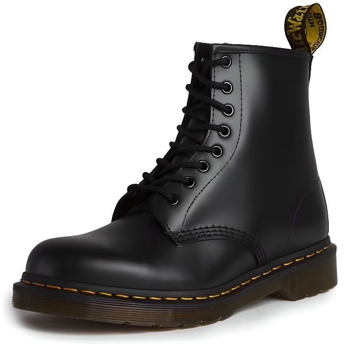 BOTTINE DOC MARTENS Bottines 1460 - Cuir - Noir-Smooth