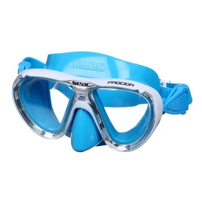 ProDive Premium Tuba/ Facile Sangle r/églable /Masque de plong/ée en Verre tremp/é r/ésistant aux Chocs /étanche Gear Sac Inclus. /étanche et antibu/ée Crystal Clear pour Une Meilleure Vision