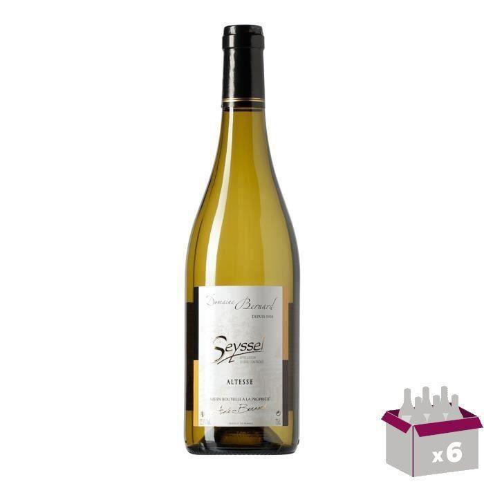 Roussette Seyssel Vin de Savoie - Blanc - 75 cl x6