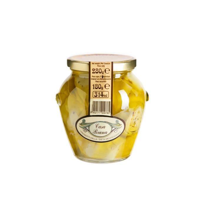 CASA BRUNA Artichauts à l'huile d'olive - 280 G