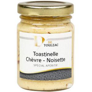 PESTO D de TOULZAC Toastinelle Chèvre Noisette 80g