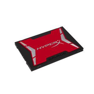 DISQUE DUR SSD HyperX SSD SAVAGE 480GB SATA 3    SHSS37A/480G