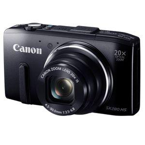 APPAREIL PHOTO COMPACT CANON SX280 HS Compact Noir - 12.1 MP Zoom 20x