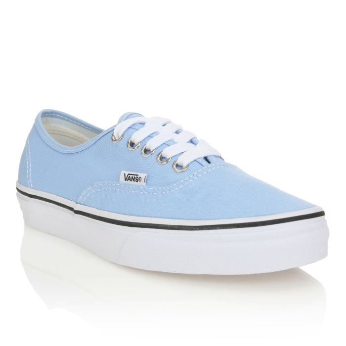 vans bleu pastel