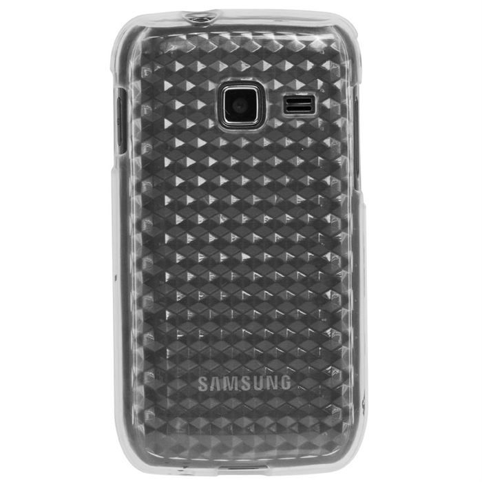 COQUE - BUMPER Coque S5380 Wave Y  semi-rigide transparente