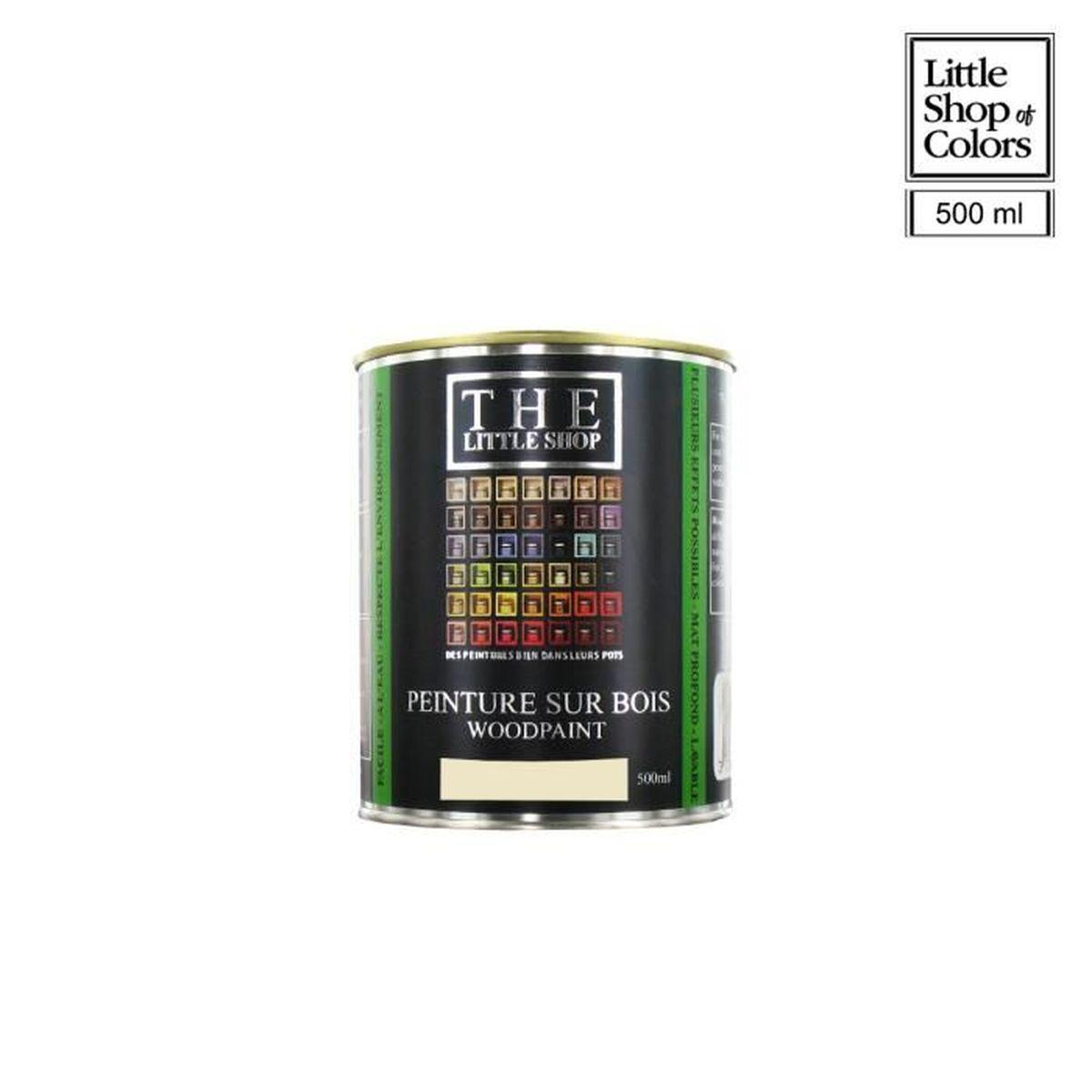 The Little Shop Peinture peinture sur bois little shop of colors blanc london fog 500ml