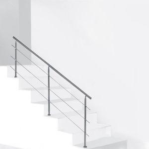 RAMPE - MAIN COURANTE Rampes d'escalier Barre de rampe en acier inoxydab