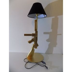 LAMPE A POSER LAMPE DESIGN THOMPSON OR luminaire decoration chev