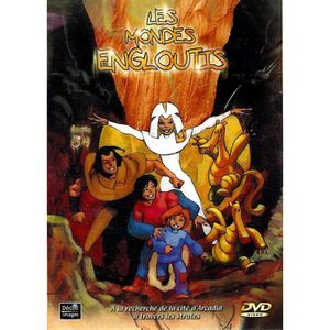 DVD DESSIN ANIMÉ DVD LES MONDES ENGLOUTIS - STRATE 04