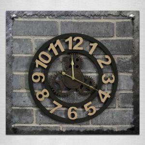HORLOGE - PENDULE Horloge - Pendule - Originalité Horloge Murale Vin