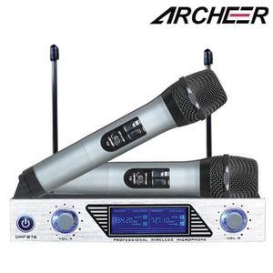 MICROPHONE - ACCESSOIRE ARCHEER Microphone système Récepteur + 2 Micros VH