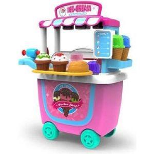DINETTE - CUISINE Jouet Enfants Ensemble de Jeu, 31pcs crème glacée