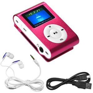 LECTEUR MP3 Go4U ECRAN LCD Baladeur Mini Lecteur mp3 Sport Pla