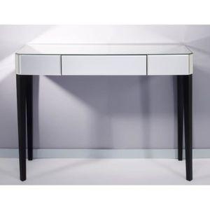 CONSOLE Casa Padrino console de luxe miroir en verre blanc