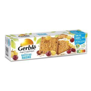 BISCUITS SECS GERBLE Biscuit aux raisins, sans sel - 360 g