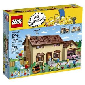 ASSEMBLAGE CONSTRUCTION LEGO 71006 La Maison des Simpsons